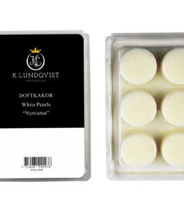 Doftkakor White Pearls Till Aromahållare